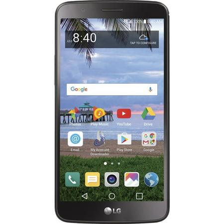 Walmart Family Mobile LG Stylo 3 16GB Prepaid Smartphone, Black