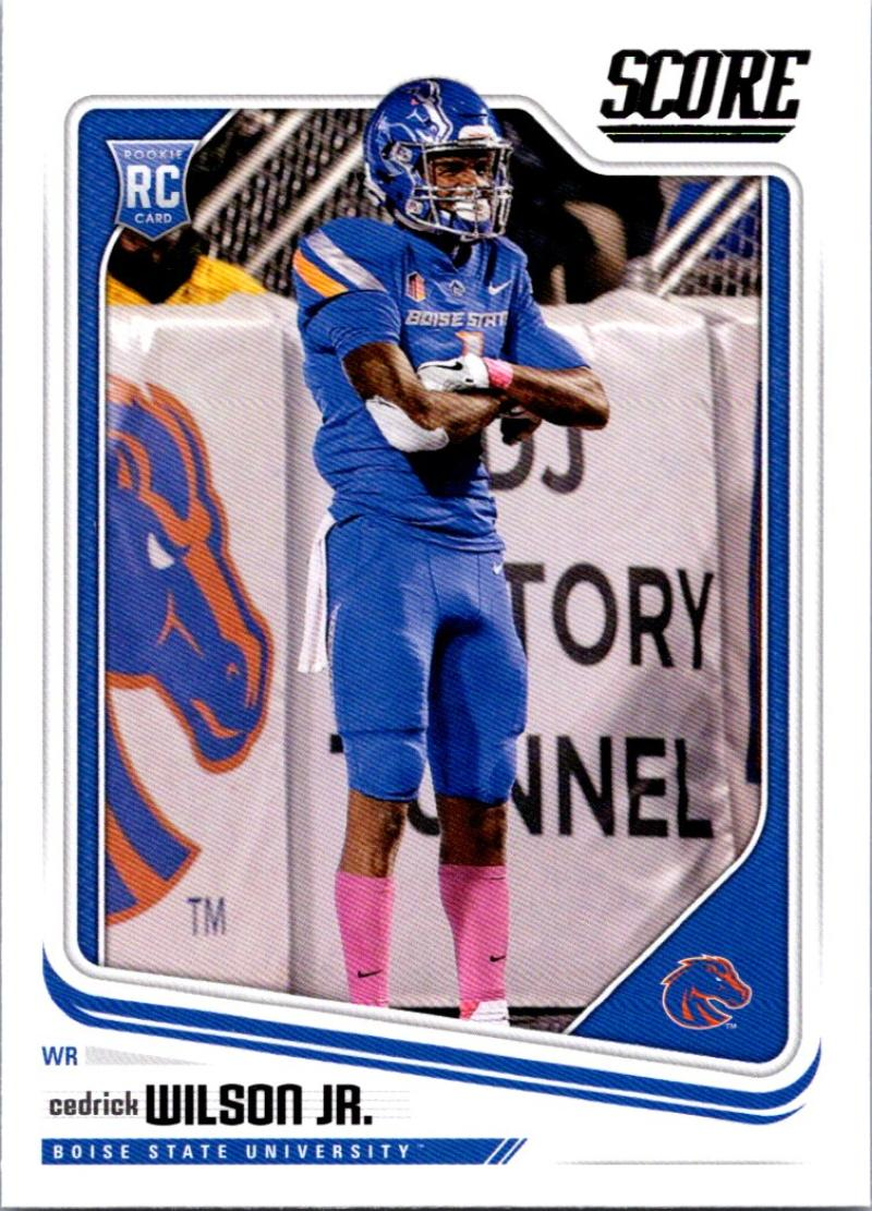 2018 Score #418 Cedrick Wilson Jr. Boise State Broncos Football Card by Panini