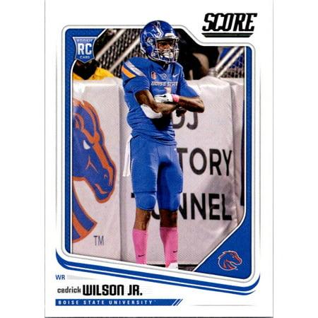 2018 Score #418 Cedrick Wilson Jr. Boise State Broncos Football Card