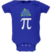 Halloween Math Pi Costume Blueberry Day Soft Baby One Piece Royal 18-24 M