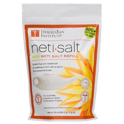Neti Pot Sea Salt - Neti Pot Salt Bag, 1.5 Pound, Himalayan All Natural By Himalayan Chandra