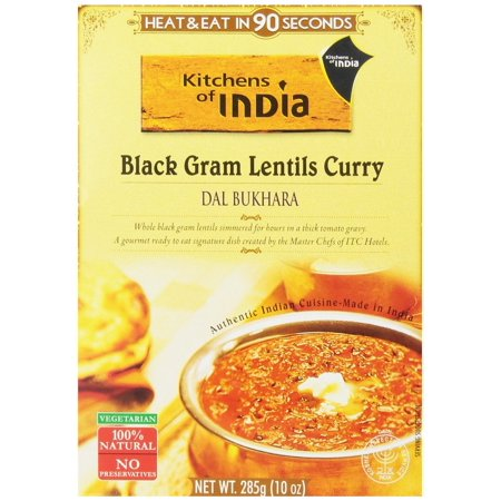 Kitchens Of India Ready To Eat Dal Bukhara, Black Gram Lentil Curry, 10 Ounce box