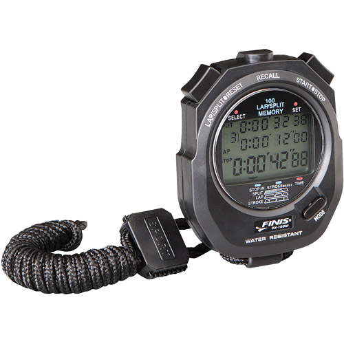 FINIS 3X-100M Stopwatch - Black