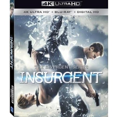 The Divergent Series  Insurgent  4K Ultrahd   Blu Ray   Digital Hd   With Instawatch