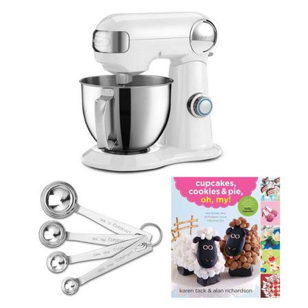 Cuisinart SM-35 Precision Master 3.5 Quart Stand Mixer and Spoon Bundle (Cuisinart Stand Mixer Paddle)