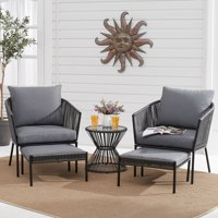 Deals on Better Homes & Gardens Brecken 5-Piece Patio Chat Set