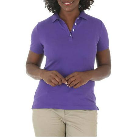 - Women's Short Sleeve Knit Polo