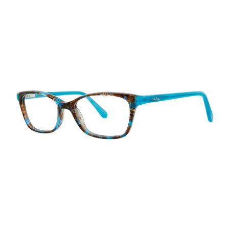 Locations Tortoise Shell Finish - Eyeglasses Lilly Pulitzer EMONI SHELL TORTOISE