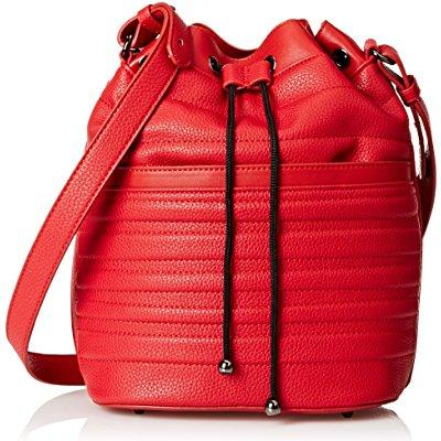 gx by gwen stefani jadyn bucket shoulder bag, red, one size