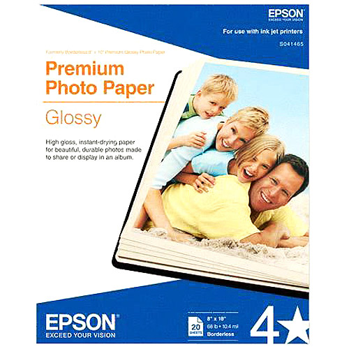 Epson S041465 Premium Glossy Photographic Papers
