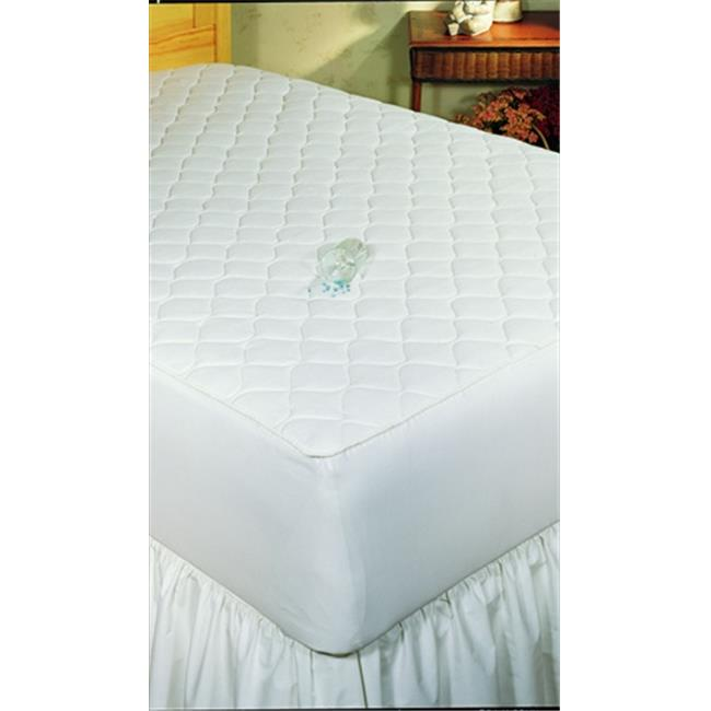 Bargoose Home Textiles 16031 Twin Fitted Quilted Waterproof Mattress Pad - 4 ply - 39x75x16