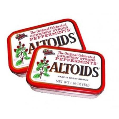 Altoids Tin Peppermint 12 packs (1.7 oz per pack) (Pack of 2)