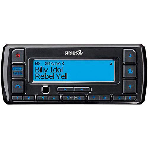 Sirius Stratus 7 Dock and Play Radio with Car Kit