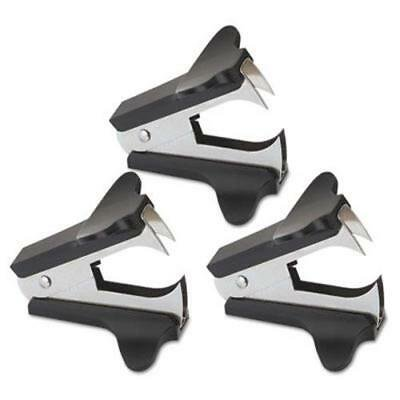 Universal Jaw Style Staple Remover (Universal Jaw Style Staple Remover, Black, 3 per Pack)