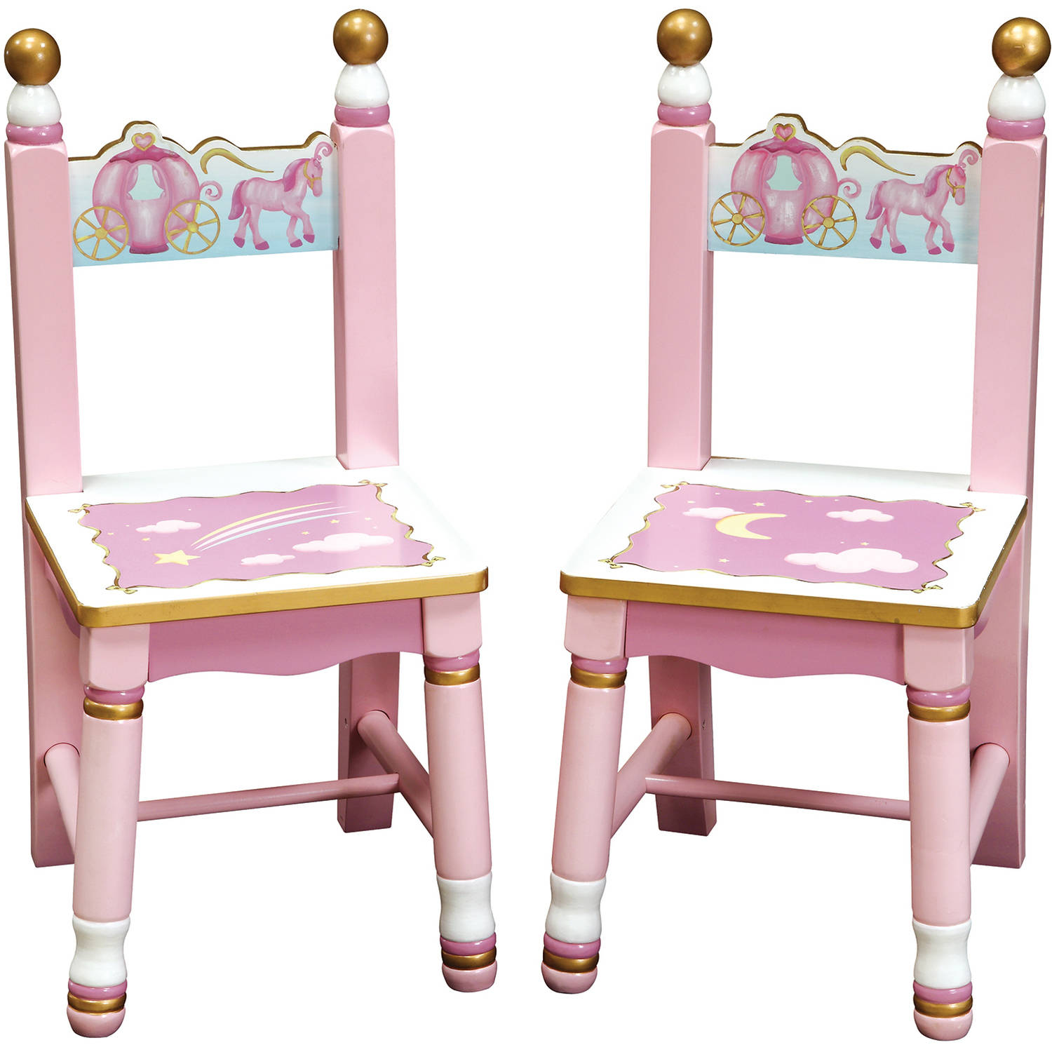Guidecraft Princess Extra Chair, Set of 2