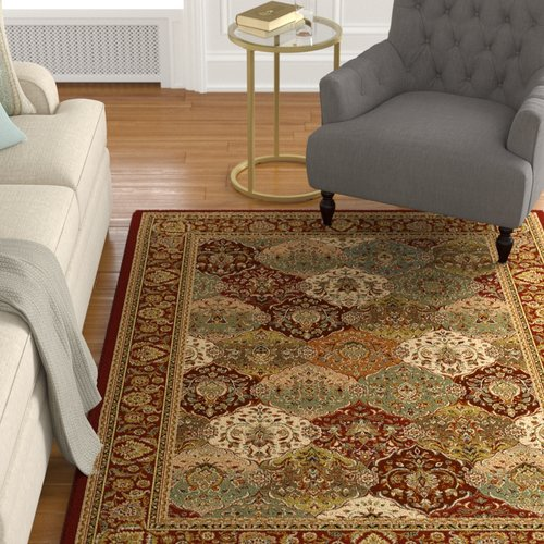 Astoria Grand Altieri Red Area Rug by