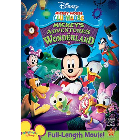 Mickey Mouse Clubhouse: Mickey's Adventures in Wonderland (DVD) - Mickey Mouse Old Halloween Movie