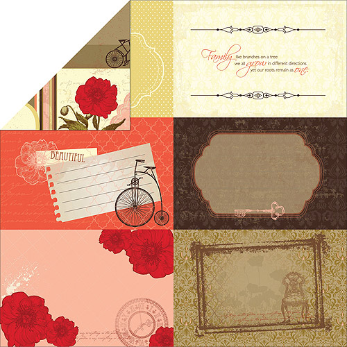 Kaisercraft Remember Me Double-Sided Paper