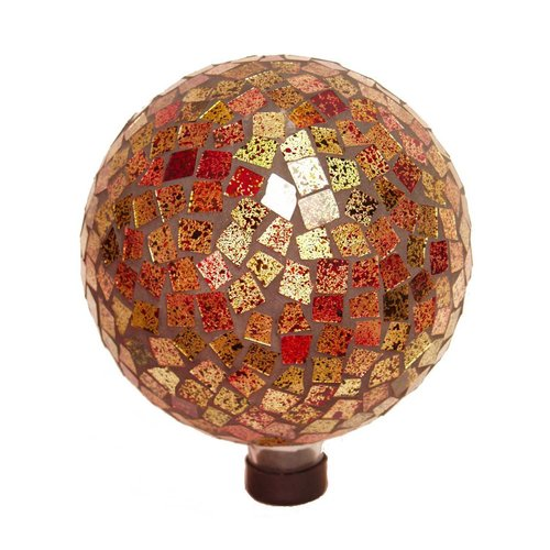 "Echo Valley 8188 10"" Blue Hues Mosaic Gazing Globe"