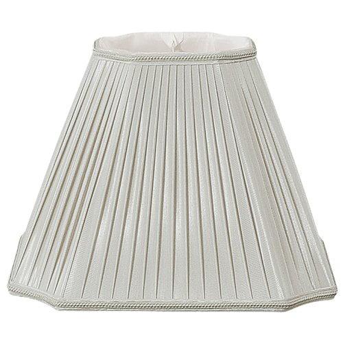 Alcott Hill 11'' Silk/Shantung Empire Lamp Shade