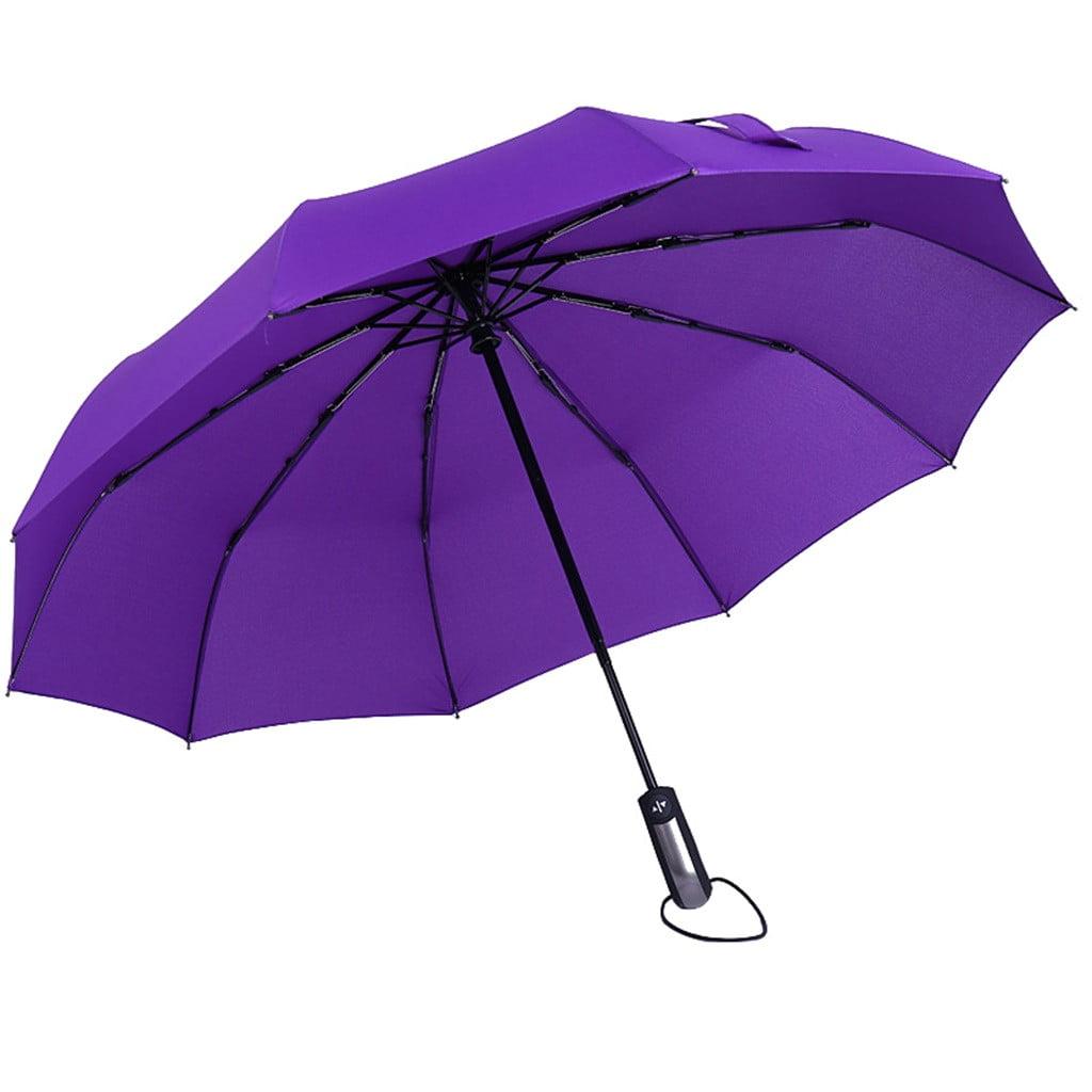 Inverted Umbrella with Retro Skate Print Car Reverse Folding Umbrella