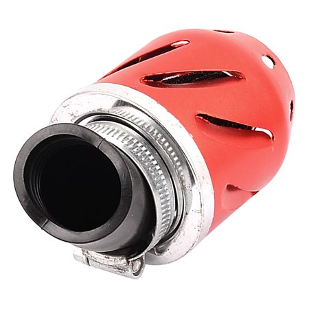 Unique Bargains 48mm Threaded Motorcycle Air Filter Cleaner Muffler Cleaning Tool Red - image 2 of 3