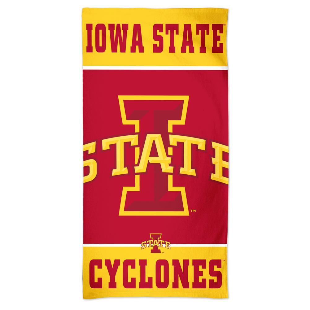 Iowa State Cyclones Beach Towel 30 x 60 Spectra Beach Towel