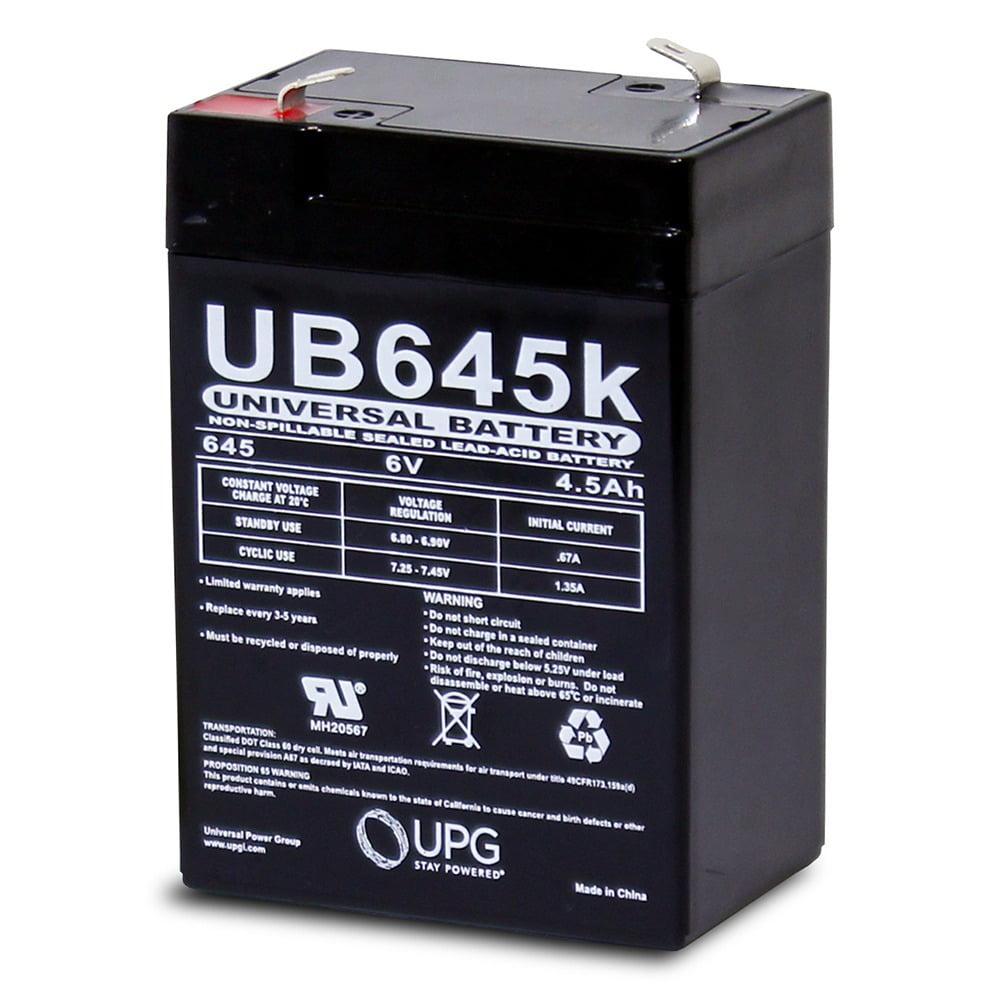 Black AMERICAN HUNTER Decoy Mojo 6 Volt 4.5 AMP Rechargeable Battery