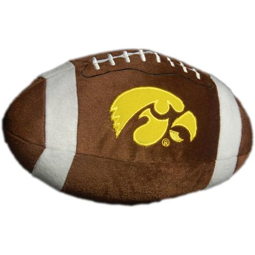 NCAA Plush Football Pillow, Iowa Hawkeyes