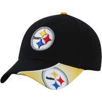Men's Black Pittsburgh Steelers Intervale Adjustable Hat - OSFA