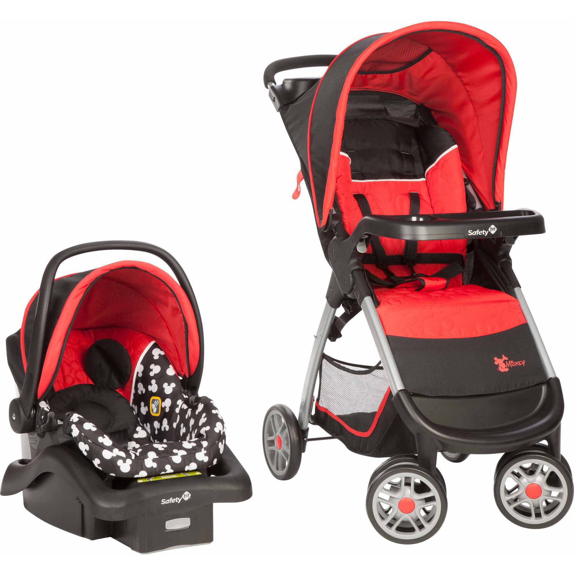 Disney Baby Amble Quad Travel System, Mickey Silo