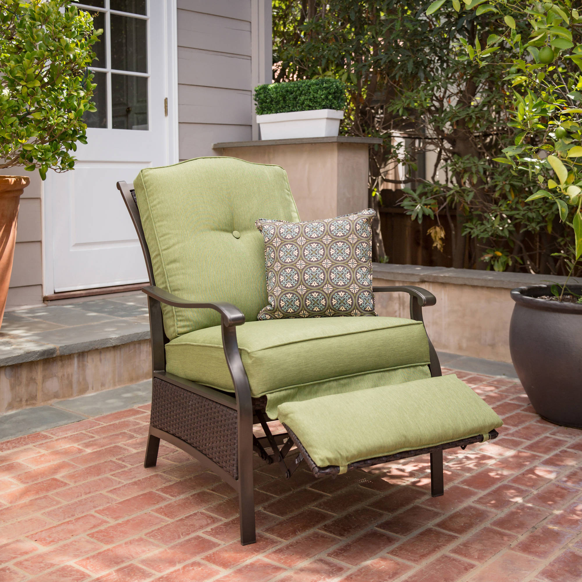 Better Homes and Gardens Providence Outdoor Recliner Walmartcom