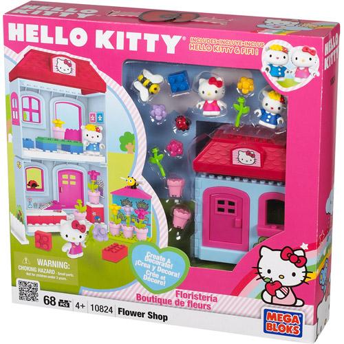Hello Kitty Mega Bloks Flower Shop Playset by Mega Brands