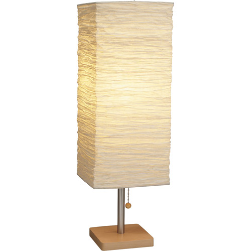 Adesso Dune Tall Table Lamp, Natural Finish
