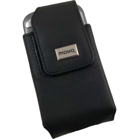 MOBO BLACK POUCH CASE BELT CLIP FOR TREO 700 HTC 8525 MOGUL 6800 WING p4350