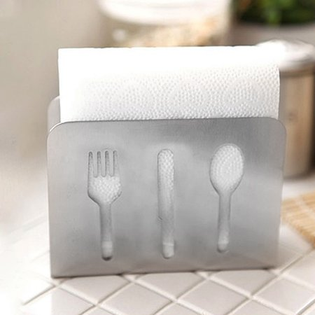 Lingstar Napkin Holders Paper Towel Tissue Holder for Tables and Parties, Stainless Steel