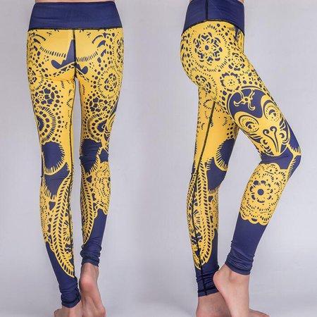 Women High Waist Jogging Yoga Pants Pantalon Femme Printed Running Gym Sports Leggings Gym Clothing For Women