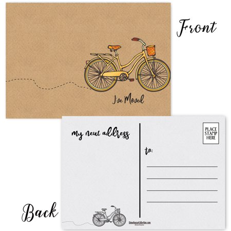 I've Moved Postcards - 50 New Address Cards  - 4 x 6 Moving Announcement Postcards ()