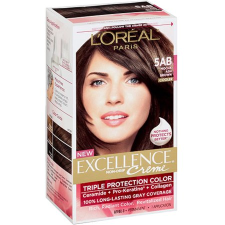 L39Oreal Excellence Creme 5AB Mocha Ash Brown 1 Ea Pack Of 4  Walmartcom