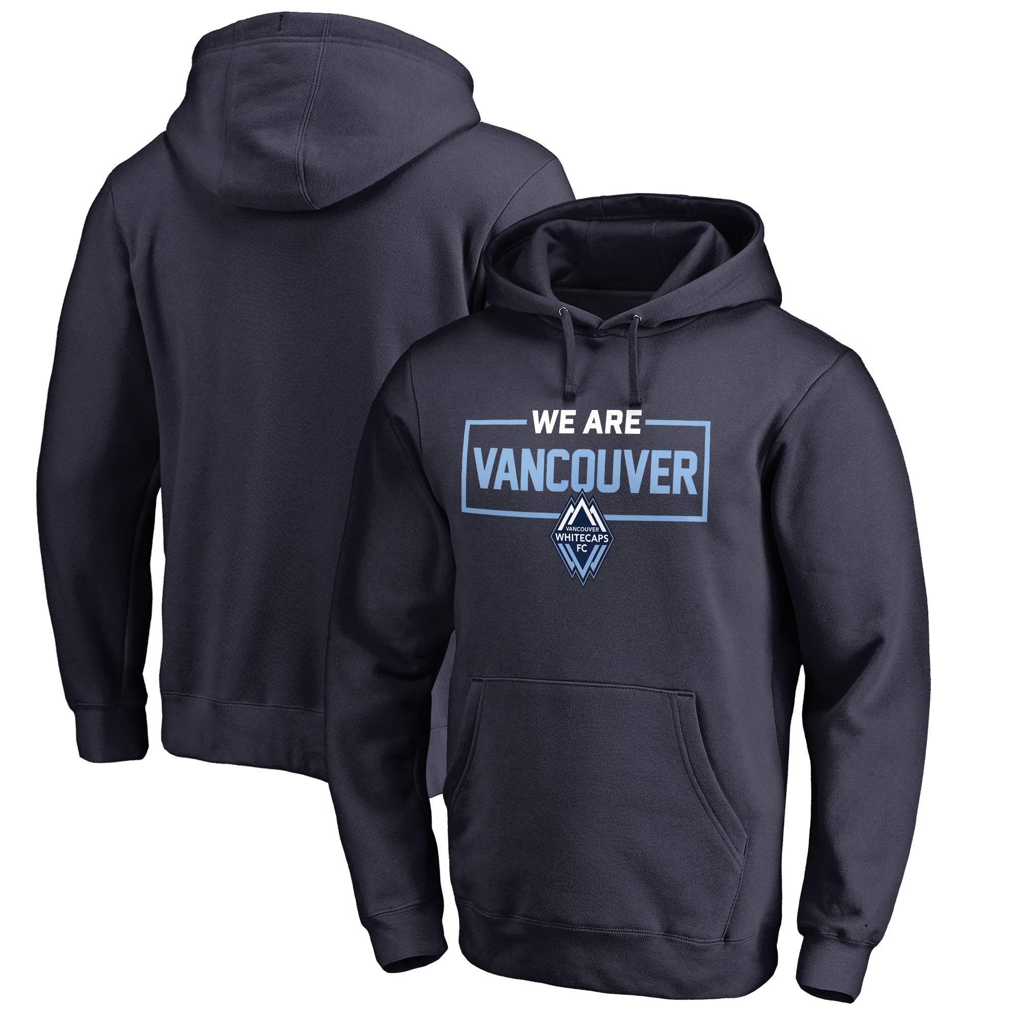 Vancouver Whitecaps FC Fanatics Branded We Are Pullover Hoodie - Navy