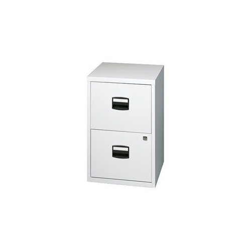 FILE2 Bisley Two Drawer Home Filing Cabinet by Brand New