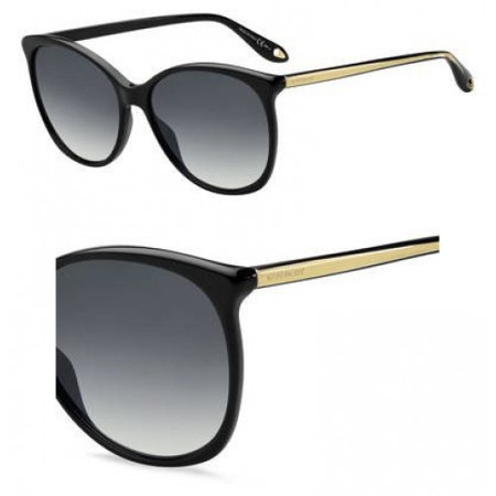 Sunglasses Givenchy Gv 7095 /S 0807 Black / 9O dark gray gradient (Givenchy Seven Sunglasses)