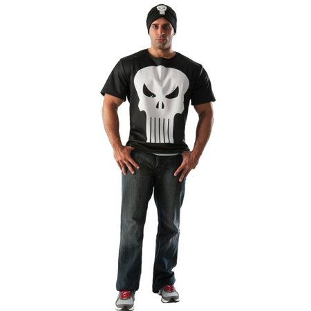 Morris Costume RU810457LG Punisher Adult Costume, - Punisher Costume