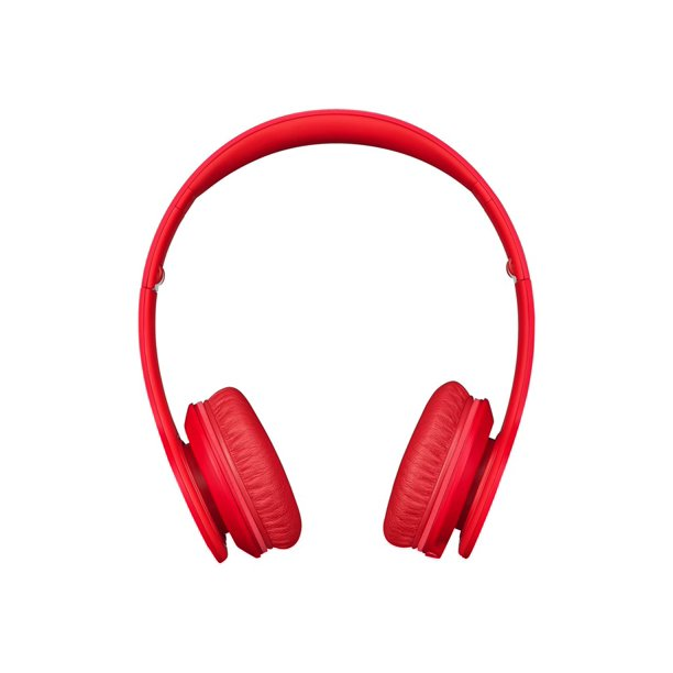 Beats Matte Solo Hd Headphones With Mic On Ear Matte Red Walmart Com Walmart Com
