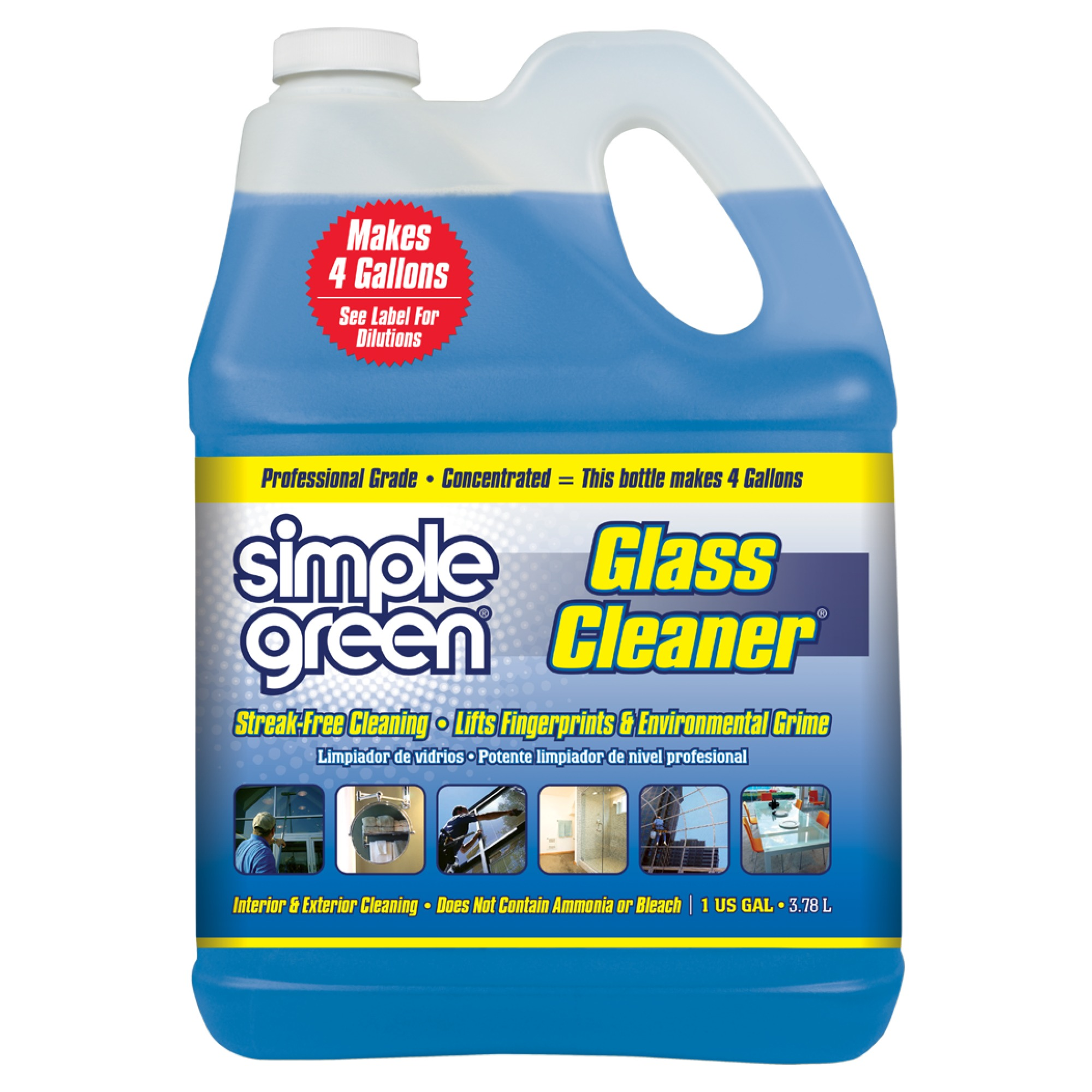 Simple Green Pro Grade Glass Cleaner 1 Gallon