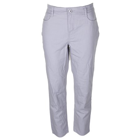 c89d5646705 Style Co Style Co Petite Light Grey Tummy-Control High Rise Skinny Jeans  10PS - Walmart.com