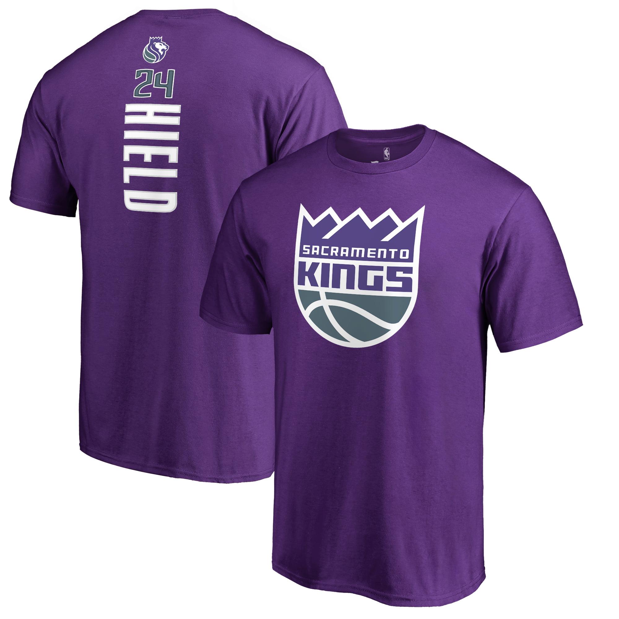 Buddy Hield Sacramento Kings Fanatics Branded Backer T-Shirt - Purple