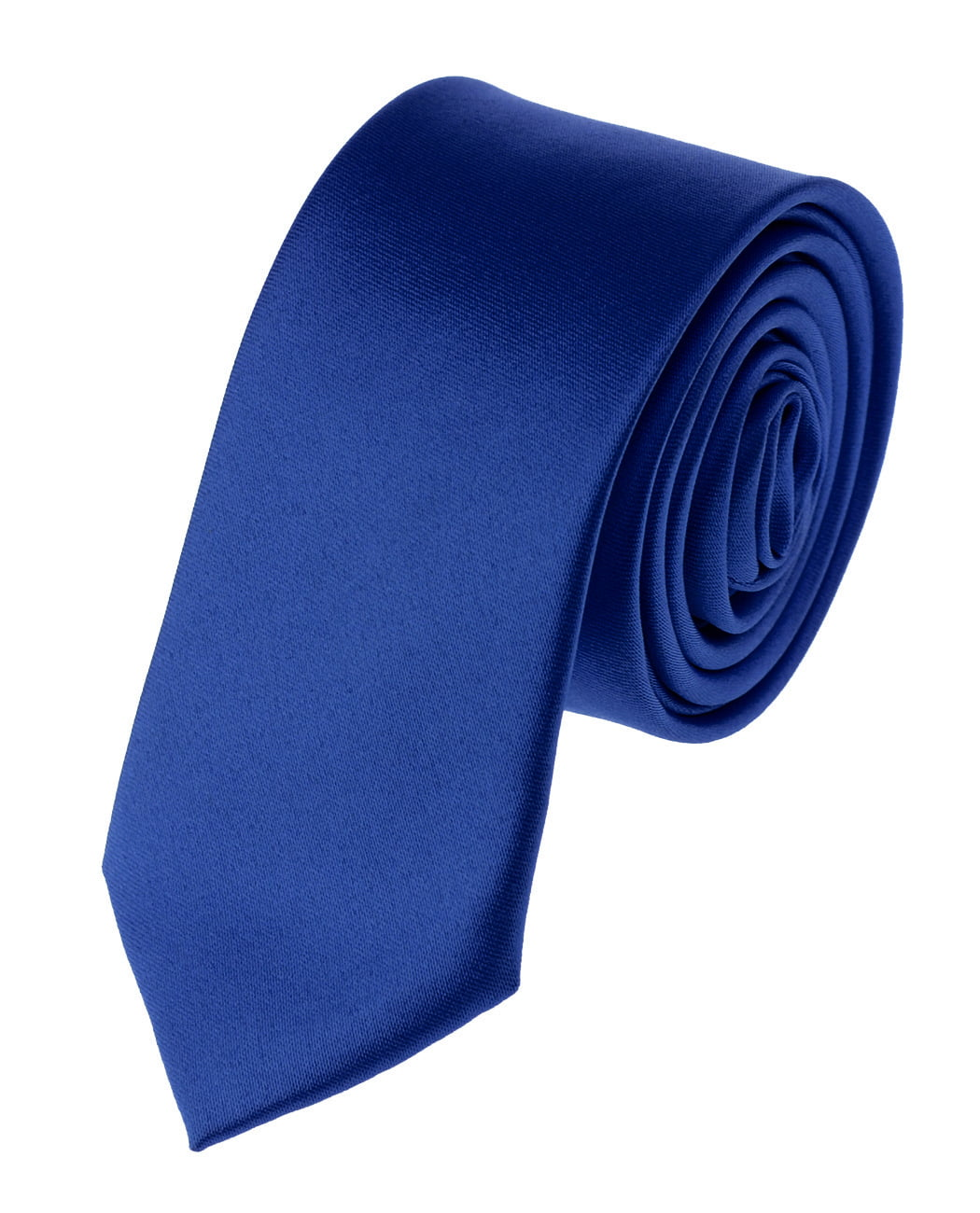"NYfashion101 Mens Solid Color 2"" Skinny Tie"