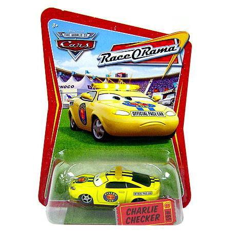 Disney Cars Race-O-Rama Charlie Checker Diecast