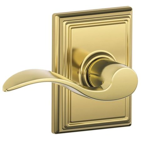 Door Knobs & Handles Schlage F10 Georgian With Addison Passage Lock With 16080 Latch 10027 Strike Age